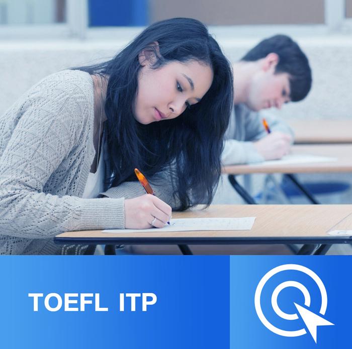 ทดสอบ TOEFL ITP ออนไลน์