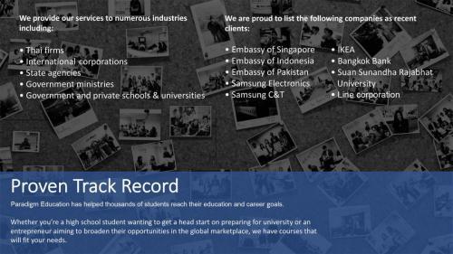 2021 13 Paradigm Company Profile